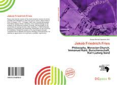 Borítókép a  Jakob Friedrich Fries - hoz