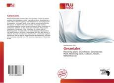 Bookcover of Geraniales