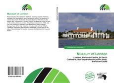 Museum of London kitap kapağı