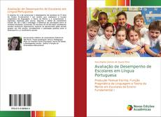 Capa do livro de Avaliação de Desempenho de Escolares em Língua Portuguesa