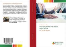 Portada del libro de O Clientelismo no Poder Legislativo