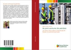 Bookcover of As joint ventures do petróleo