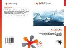 Buchcover von Aquifoliales