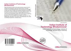 Bookcover of Indian Institute of Technology Bhubaneswar