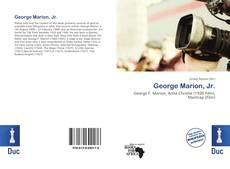 Bookcover of George Marion, Jr.