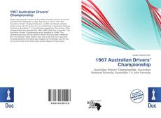 Bookcover of 1967 Australian Drivers' Championship