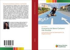 Capa do livro de Economia de Baixo Carbono nas Escolas