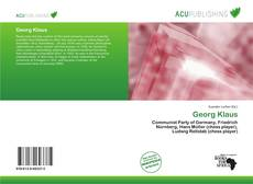 Bookcover of Georg Klaus