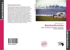 Baeckea Brevifolia kitap kapağı