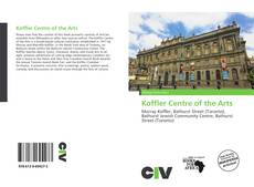 Bookcover of Koffler Centre of the Arts