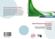 Capa do livro de David Grayson (American Football)