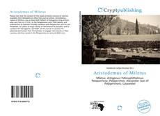 Capa do livro de Aristodemus of Miletus