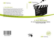 J. Elvis Weinstein的封面
