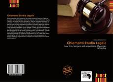 Chiomenti Studio Legale kitap kapağı