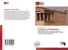 Bookcover of Antigone of Macedon