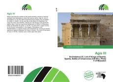 Bookcover of Agis III