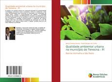 Portada del libro de Qualidade ambiental urbana no município de Teresina - PI