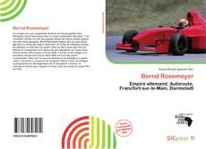 Portada del libro de Bernd Rosemeyer