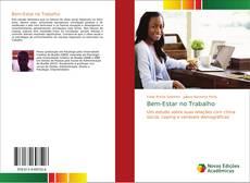 Buchcover von Bem-Estar no Trabalho