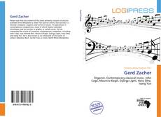Bookcover of Gerd Zacher