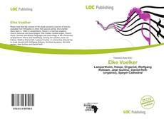 Bookcover of Elke Voelker