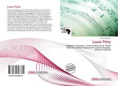 Capa do livro de Louis Thiry