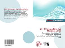 Bookcover of 2010 Commodore Cup National Series