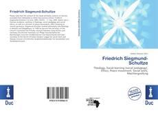 Buchcover von Friedrich Siegmund-Schultze