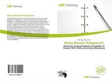 Bookcover of Horia-Roman Patapievici