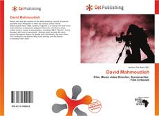 Bookcover of David Mahmoudieh
