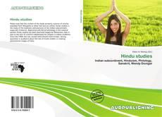 Bookcover of Hindu studies