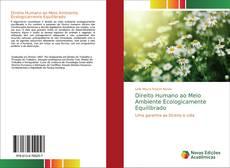 Borítókép a  Direito Humano ao Meio Ambiente Ecologicamente Equilibrado - hoz