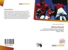 Buchcover von Henry Krause