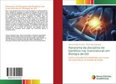 Capa do livro de Panorama da disciplina de Genética nas licenciaturas em Biologia de GO