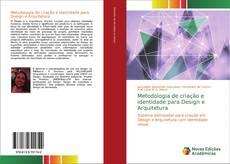 Capa do livro de Metodologia de criação e identidade para Design e Arquitetura