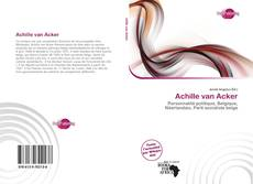 Bookcover of Achille van Acker