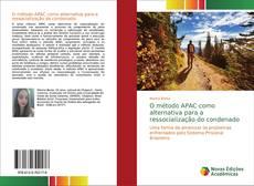 Portada del libro de O método APAC como alternativa para a ressocialização do condenado