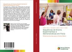 Capa do livro de Sequências de Ensino Experimentais e Demonstrativas em Física