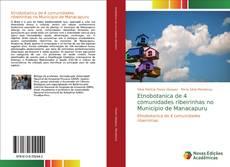 Capa do livro de Etnobotanica de 4 comunidades ribeirinhas no Municipio de Manacapuru