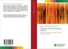 Buchcover von Tópicos em Administração Pública