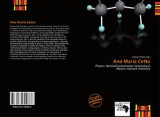 Bookcover of Ana María Cetto