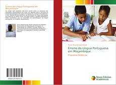 Capa do livro de Ensino da Língua Portuguesa em Moçambique