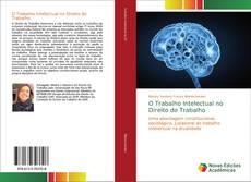 Capa do livro de O Trabalho Intelectual no Direito do Trabalho