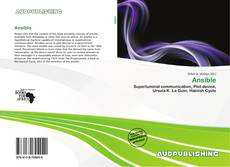 Bookcover of Ansible
