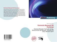 Capa do livro de Formula Renault V6 Eurocup