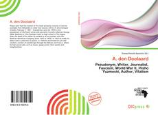 Bookcover of A. den Doolaard