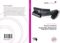 Bookcover of Gavin Lambert