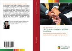 Capa do livro de Sindicalismo no setor público brasileiro
