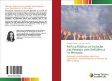 Bookcover of Política Pública de Inclusão das Pessoas com Deficiência no Mercado: