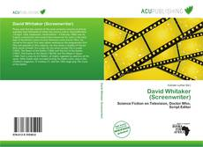 Portada del libro de David Whitaker (Screenwriter)